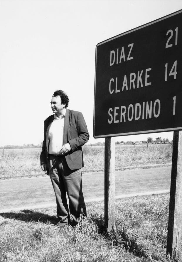 """""""Me preguntaba sobre las expresiones de su infancia """", cuenta Díaz sobre el escritor nacido en Serodino, Santa Fe, que vivió en París y desde allí consultaba sus dudas"""