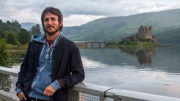 Gary Shea, en Escocia