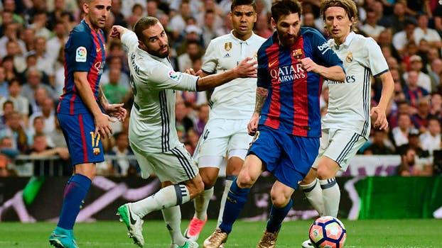 Jugadas, Messi Ronaldo, Ramos, y un trunfo sobre la hora.. Foto: Reuters