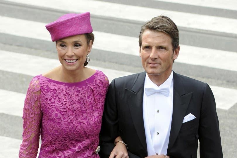 El príncipe Bernhard de Holanda y la princesa Annette. Foto: Reuters