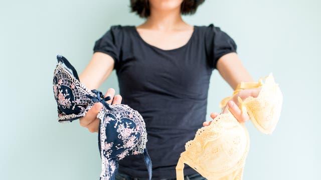 El corpiño con aro sigue siendo una opción, pero hay que estar atentas al elegir el talle