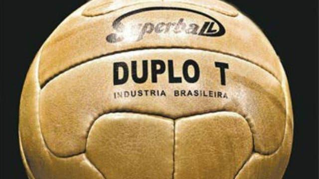 1950, Brasil: Super ball duplo T se llamó la pelota del Mundial; era distinto a los anteriores por sus gajos. Foto: Archivo