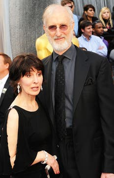 James Cromwell y su mujer Anna Stuart. Foto: AFP