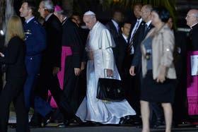Francisco partió ayer de Río de Janeiro, tras encabezar la Jornada Mundial de la Juventud