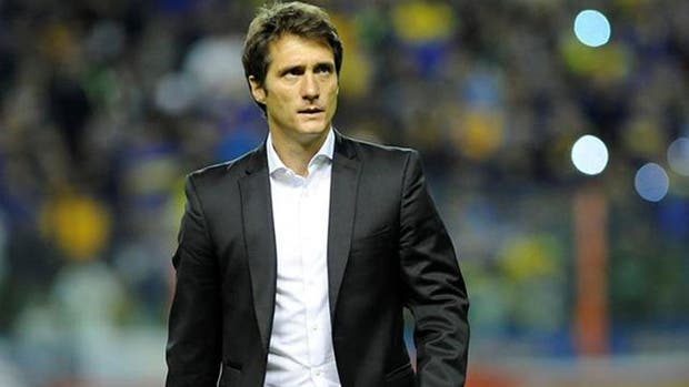 Guillermo Barros Schelotto, DT campeón con Boca en el último torneo
