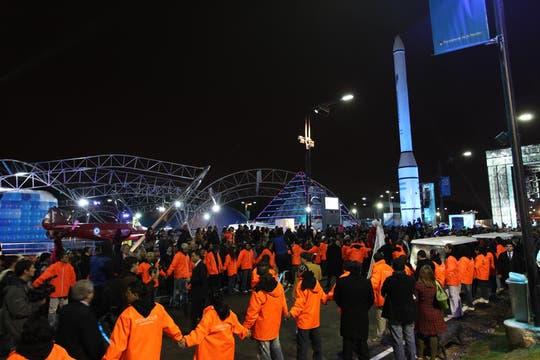 Gran cantidad de gente asistió a Tecnópolis, la megamuestra de ciencia y tecnología. Foto: lanacion.com / Matías Aimar
