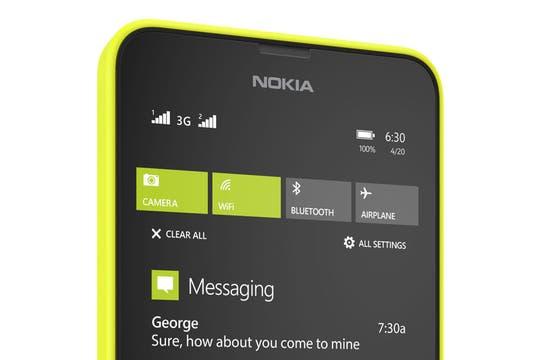 Nokia Lumia 630.