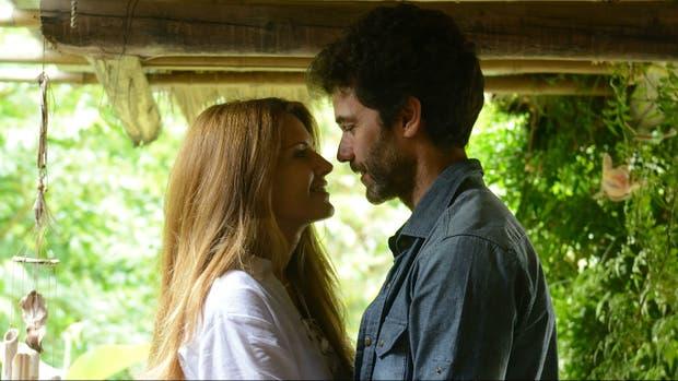 Isabel Macedo y Mariano Martínez en Amar después de amar