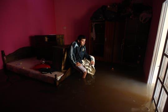 La más impactantes imágenes del temporal que azotó Buenos Aires en los ultimos días. Foto: LA NACION / Emiliano Lasalvia