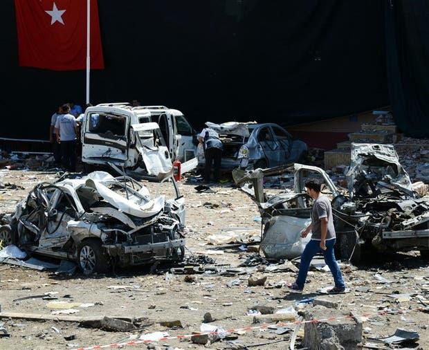 Turquía fue escenario de varios atentados este año, como el de anteayer en la ciudad de Elazig, con un coche bomba