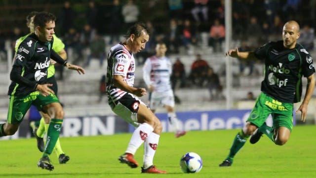 Patronato y Sarmiento se repartieron puntos en Paraná