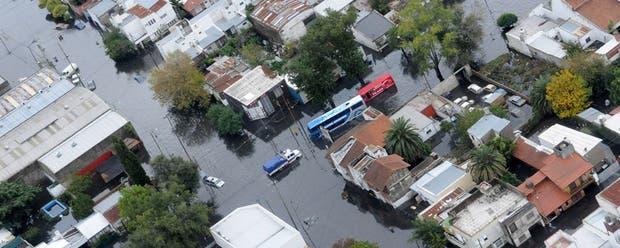 El barrio Villa Elvira, uno de los más afectados