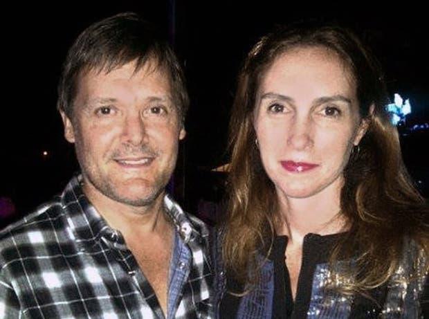 Fernando Farré y Claudia Schaefer, un año antes del homicidio en Martindale, de Pilar