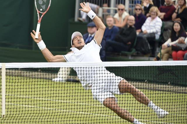 Pico cayó en el césped de Wimbledon
