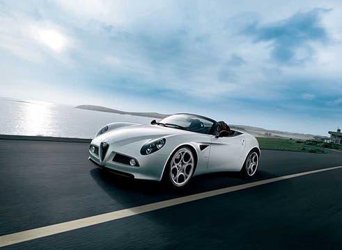 Una de las mayores atracciones: el Alfa 8C Competizione spider.