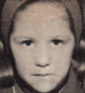 Ana Valeria, en una imagen de archivo que tenía 18 años