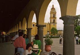 Los edificios del casco histórico se mantienen fieles al estilo colonial