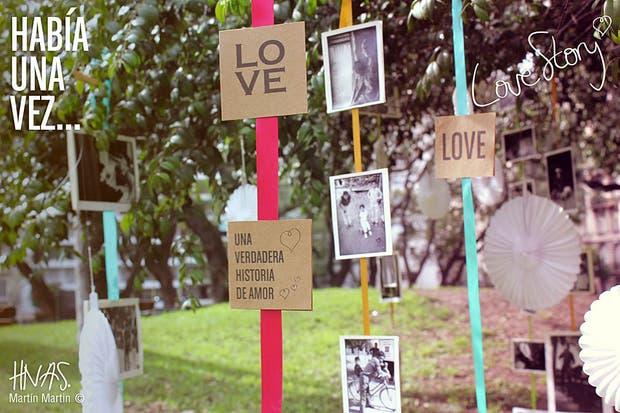 1- Elegí fotos que cuenten tu historia de amor. Foto: HNAS. Martin Martin