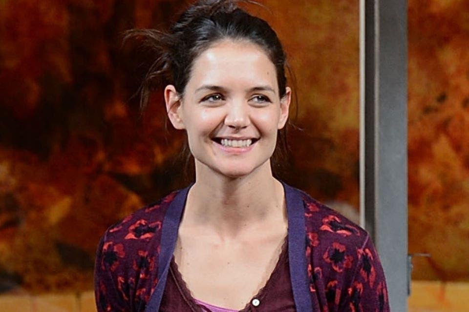 Katie Holmes volvió a actuar en teatro. Foto: /Getty Images