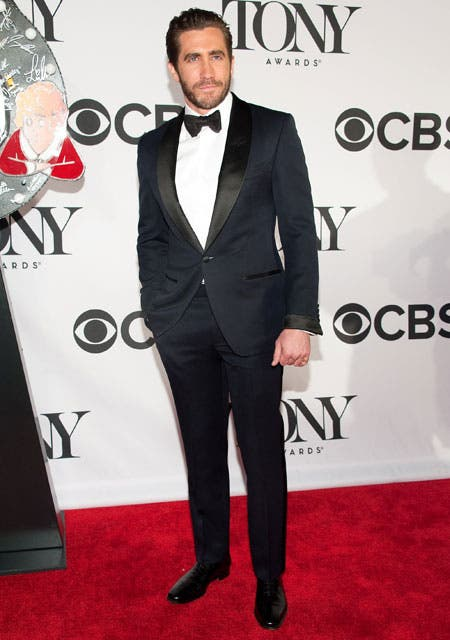 Jake Gyllenhaal, elegantísimo, de impecable smoking.  Foto:  / Getty Images