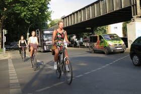 En Berlín, la bicicleta se impone como medio de transporte