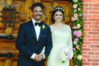 La boda de Araceli González y Fabián Mazzei, puertas adentro