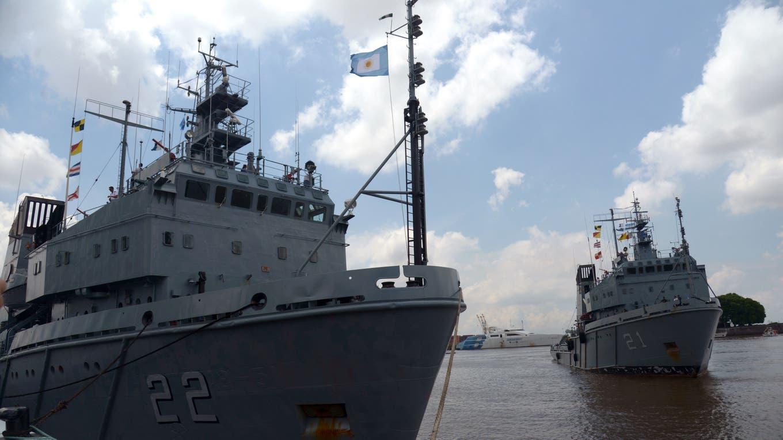 Los buques de la Armada controlan las aguas territoriales. Foto: Gentileza prensa Ministerio de Defensa