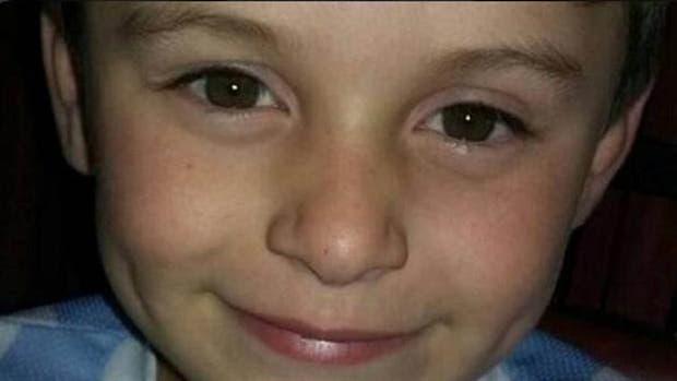 Luciano fue atropellado por un patrullero cuando festejaba su cumpleaños número 6