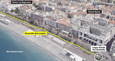 Así fue el atentado en Niza