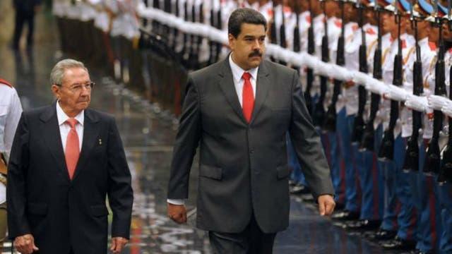 Maduro ha tratado de mantener la relación especial con Cuba que empezó en el gobierno de Chávez