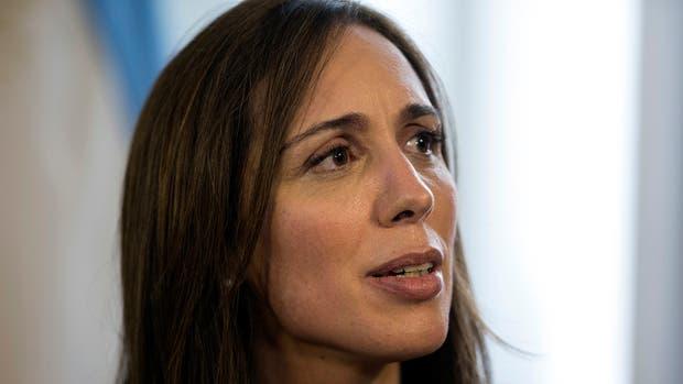 La gobernadora María Eugenia Vidal