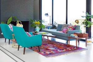 Living: ideas para decorarlo con color
