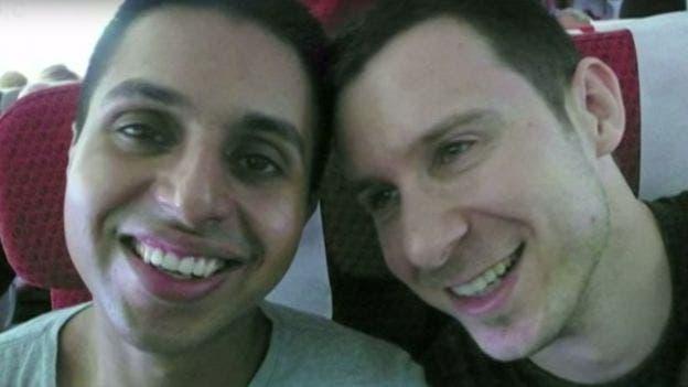 Matthew (a la derecha) junto a Naz