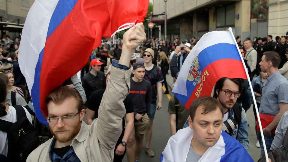 Escuelas y universidades advirtieron a sus alumnos que no asistieran a la manifestación de ayer. Foto: AP