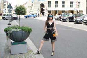 Look edgy en Berlín