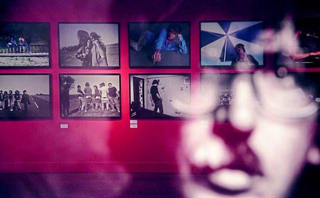Algunas de las muchas fotografías que pueden verse en la muestra
