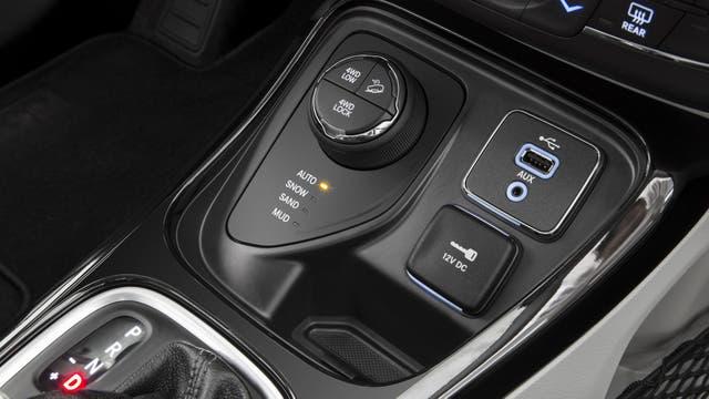 Dial selector de los modos de marcha del Jeep Compass