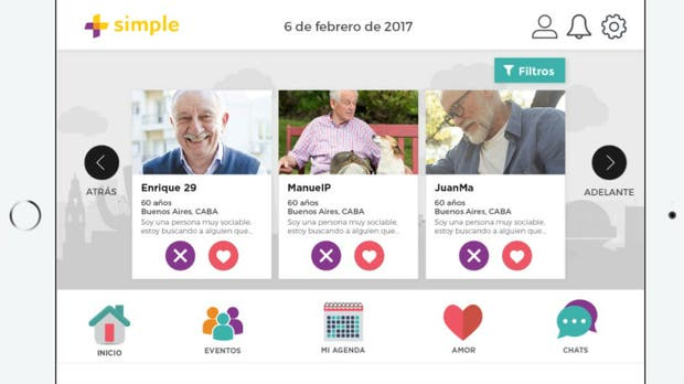 Los adultos mayores pueden buscar pareja