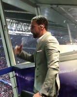 La emoción de Río Ferdinand en el gol 100 de Messi en la UEFA Champions League