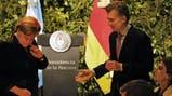 Fotos de Angela Merkel en la Argentina