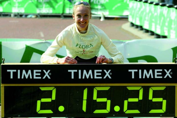 Paula Radcliffe se siente amenazada