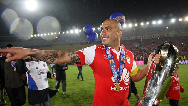 Omar Pérez, campeón e ídolo en Independiente Santa Fe