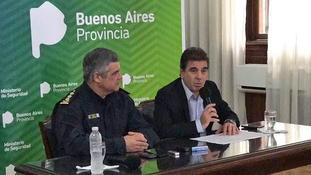 Cristian Ritondodio una conferencia de prensa