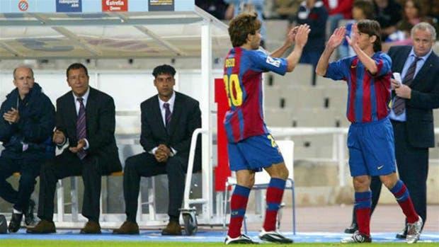 El debut de Messi en Barcelona, el 16 de octubre de 2004
