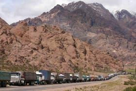 Unos 400 vehículos quedaron varados