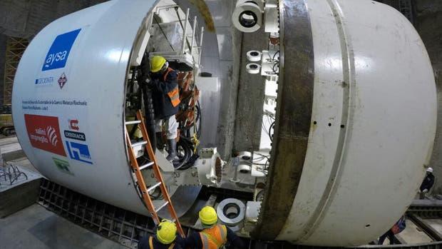Macri pondrá en marcha la tuneladora del Lote 3 de la obra Sistema Matanza-Riachuelo de la empresa Aysa, que cavará un túnel de 12 kilómetros