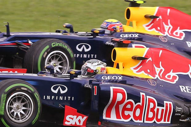 Vettel y Webber, de Red Bull.