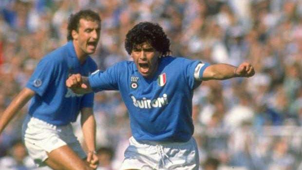 Maradona y un grito que se repitió 15 veces en el Napoli campeón