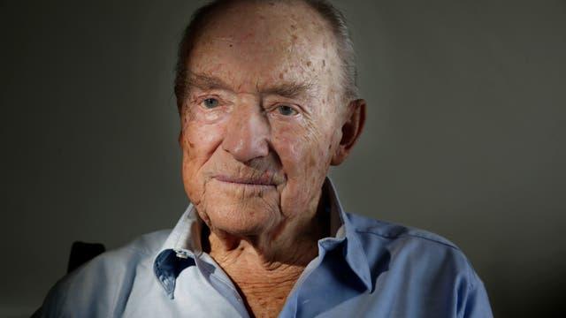 Ronald (Ronnie) Scott, oriundo de Villa Devoto, quien combatió voluntariamente en la segunda guerra mundial. Foto: LA NACION / Hernán Zenteno
