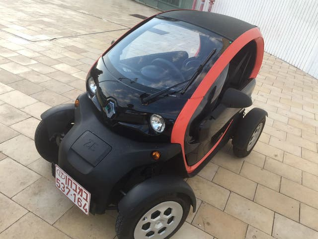 El prototipo de auto eléctrico de Renault